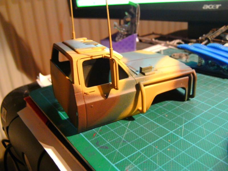 `77 GMC Umbau Truck von Revell in 1:25 Pict0154