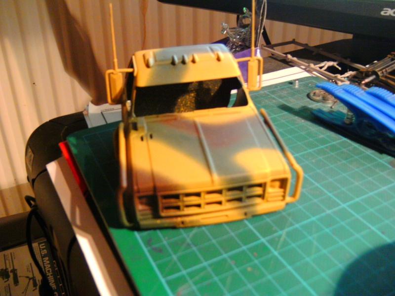 `77 GMC Umbau Truck von Revell in 1:25 Pict0155