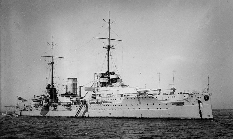 Croiseurs de bataille allemands Von_de10
