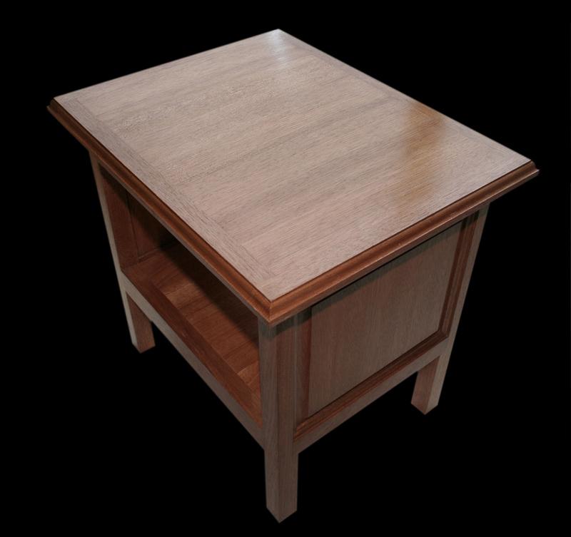 Table basse en chene 090_2_10