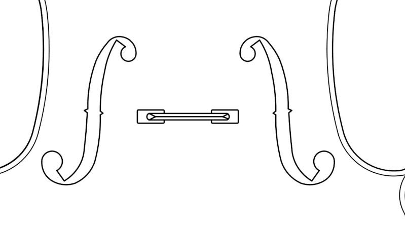 Dessiner une spirale de Cornu ou Clothoïde Violon10