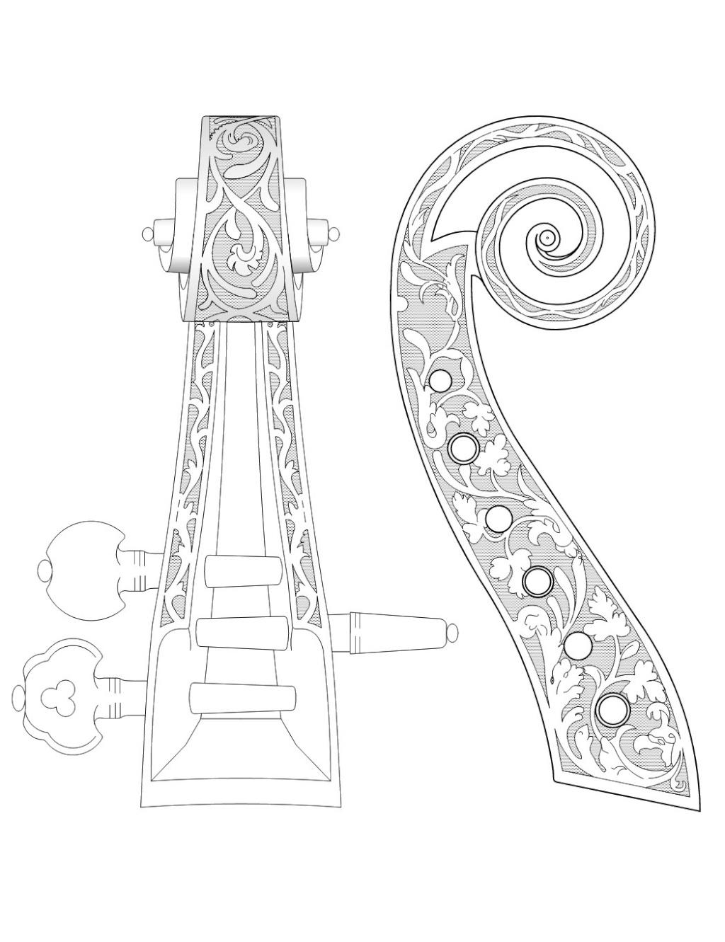 Dessiner une spirale de Cornu ou Clothoïde Volute10