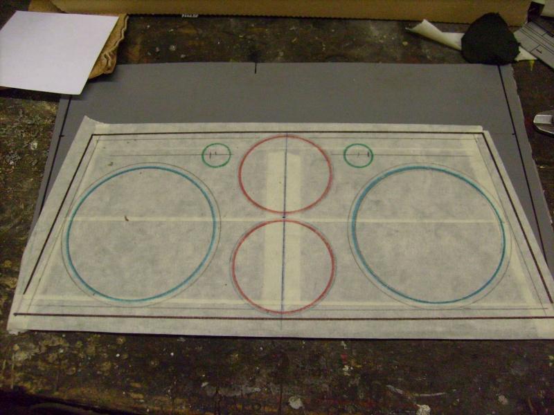 Fabrication d une planche support compteur tableau de bord S7300814