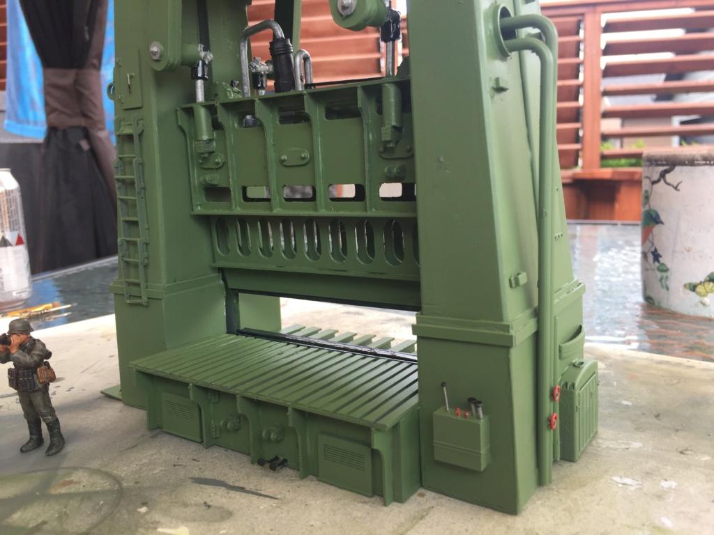 Artillerie en production - Canon Leopold et locomotive C12 Trumpeter - 1/35 - Page 6 Machin27