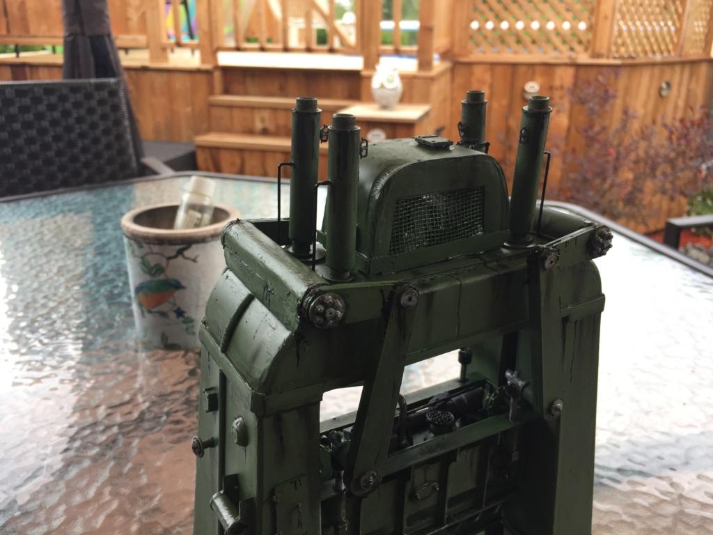 Artillerie en production - Canon Leopold et locomotive C12 Trumpeter - 1/35 - Page 6 Machin28