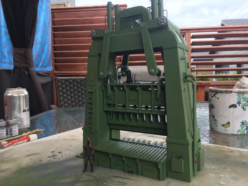 Artillerie en production - Canon Leopold et locomotive C12 Trumpeter - 1/35 - Page 6 Machin29