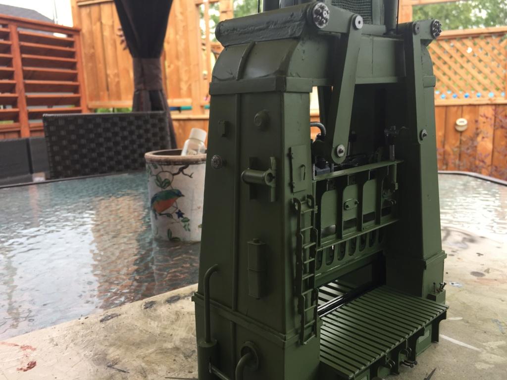 Artillerie en production - Canon Leopold et locomotive C12 Trumpeter - 1/35 - Page 6 Machin30
