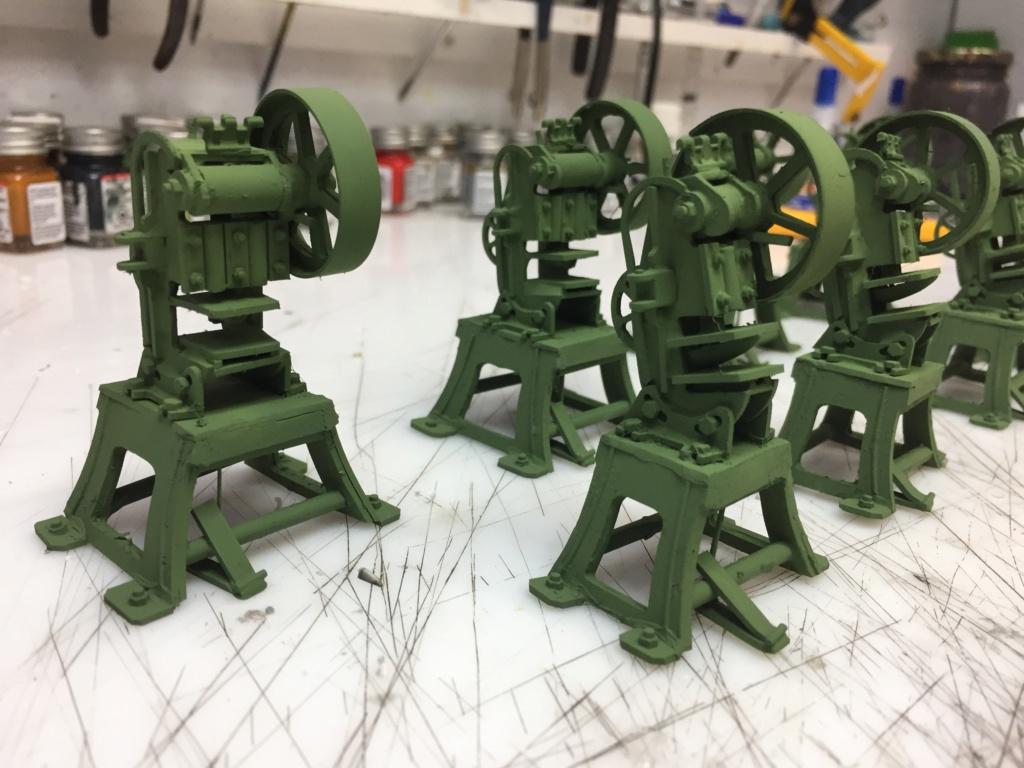 Artillerie en production - Canon Leopold et locomotive C12 Trumpeter - 1/35 - Page 6 Machin50