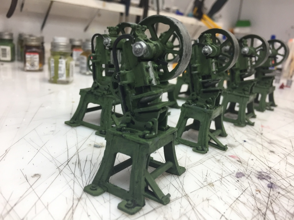 Artillerie en production - Canon Leopold et locomotive C12 Trumpeter - 1/35 - Page 6 Machin51