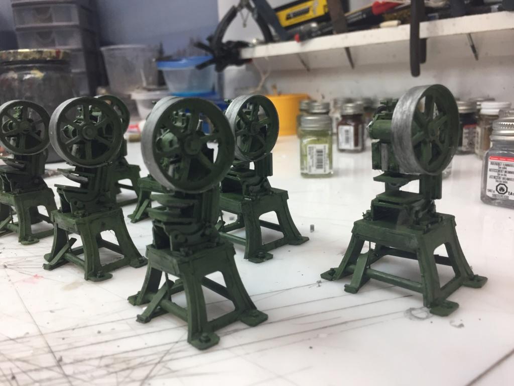 Artillerie en production - Canon Leopold et locomotive C12 Trumpeter - 1/35 - Page 6 Machin52