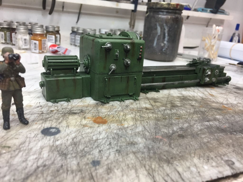 Artillerie en production - Canon Leopold et locomotive C12 Trumpeter - 1/35 - Page 7 Machin70