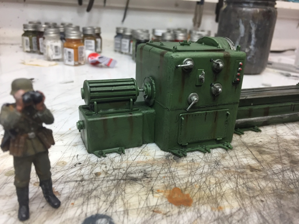 Artillerie en production - Canon Leopold et locomotive C12 Trumpeter - 1/35 - Page 7 Machin71