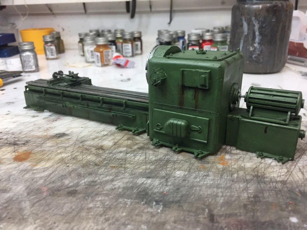 Artillerie en production - Canon Leopold et locomotive C12 Trumpeter - 1/35 - Page 7 Machin74
