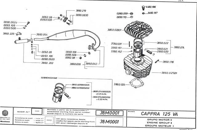 Cappra VA 125 1976 Cci01023