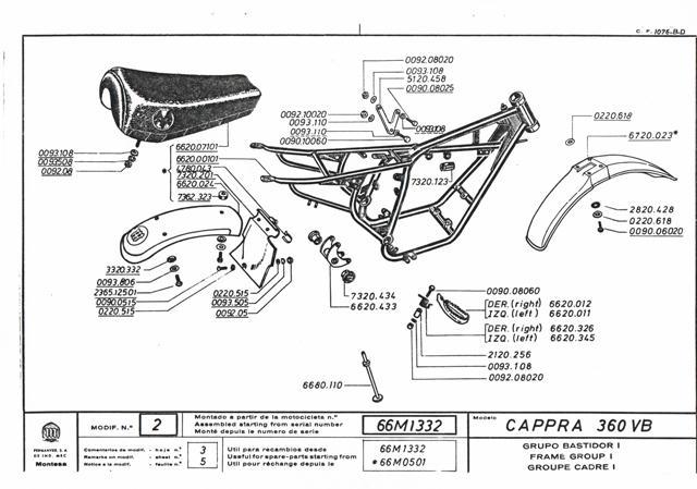 Cappra vb 125 250 et 360 77/78 Cci31135