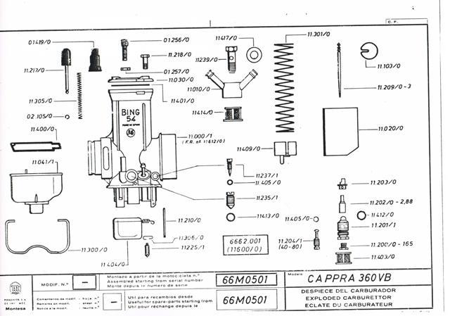 Cappra vb 125 250 et 360 77/78 Cci31146