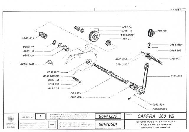 Cappra vb 125 250 et 360 77/78 Cci31149