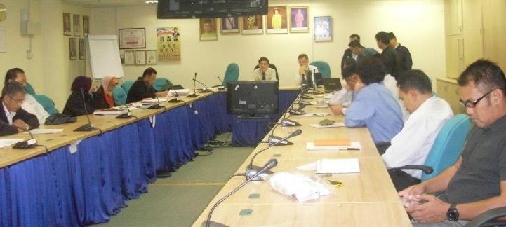 Mesyuarat Jawatankuasa Keselamatan dan Kesihatan Pekerjaan (JKKP) Bil 1/2013, JPS Sabah 512