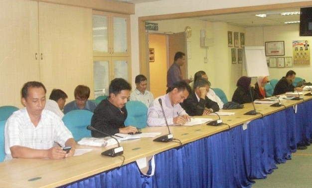 Mesyuarat Jawatankuasa Keselamatan dan Kesihatan Pekerjaan (JKKP) Bil 1/2013, JPS Sabah 611