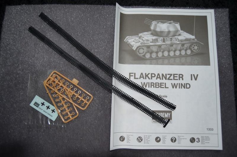 Flakpanzer IV Wirbelwind (Academy 1/35) Suite du montage du canon  Dsc_0025