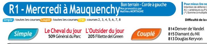 Autres courses PMU du Mercredi 20 novembre 2019 0548
