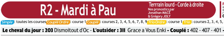 Autres courses PMU du Mardi 10 décembre 2019 0587