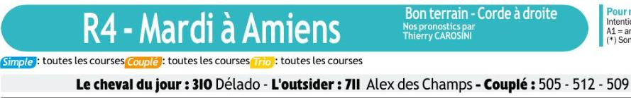 Autres courses PMU du Mardi 17 décembre 2019 0622