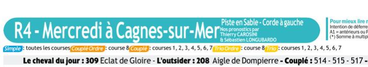 Autres courses PMU du Mercredi 18 Décembre 2019 0626
