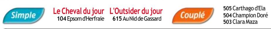 Autres courses PMU du Dimanche 29 décembre 2019 0660