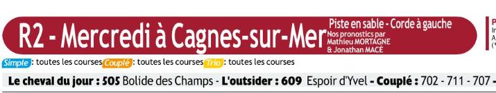 Autres courses PMU du Mercredi 08 janvier 2020 0684