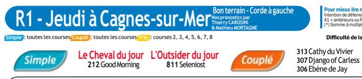 Autres courses PMU du Jeudi 09 janvier 2020 0688