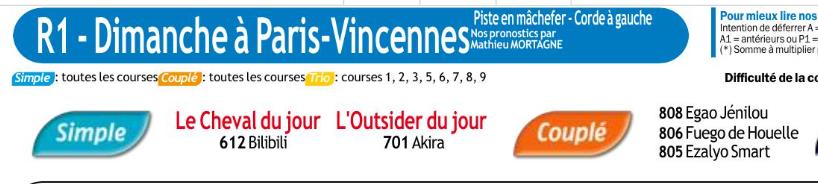 Autres courses Pmu du Dimanche 2 février 2020 0789