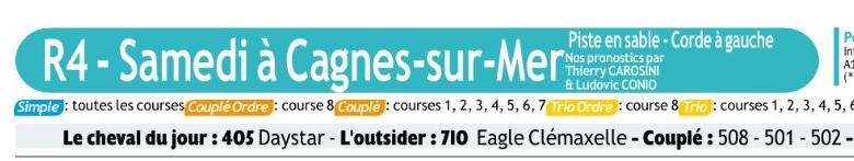 Autres courses PMU du Samedi 08 Février 2020 0811