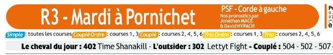 Autres courses PMU du Mardi 03 mars 2020 0881