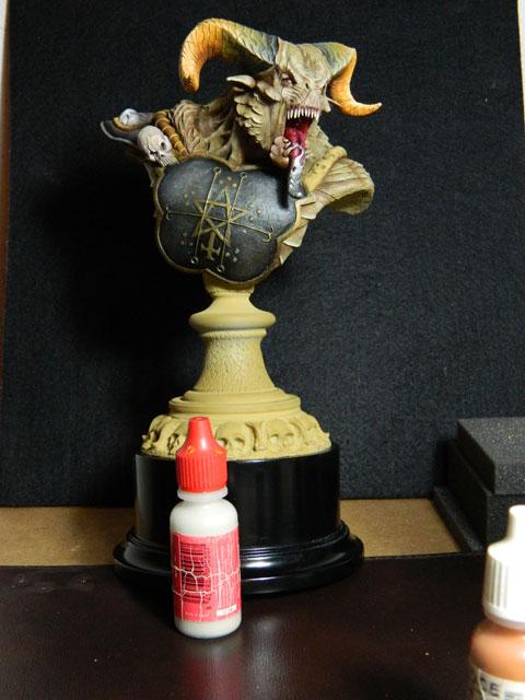 astaroth  buste de tres grande taille pegaso Dscn4217