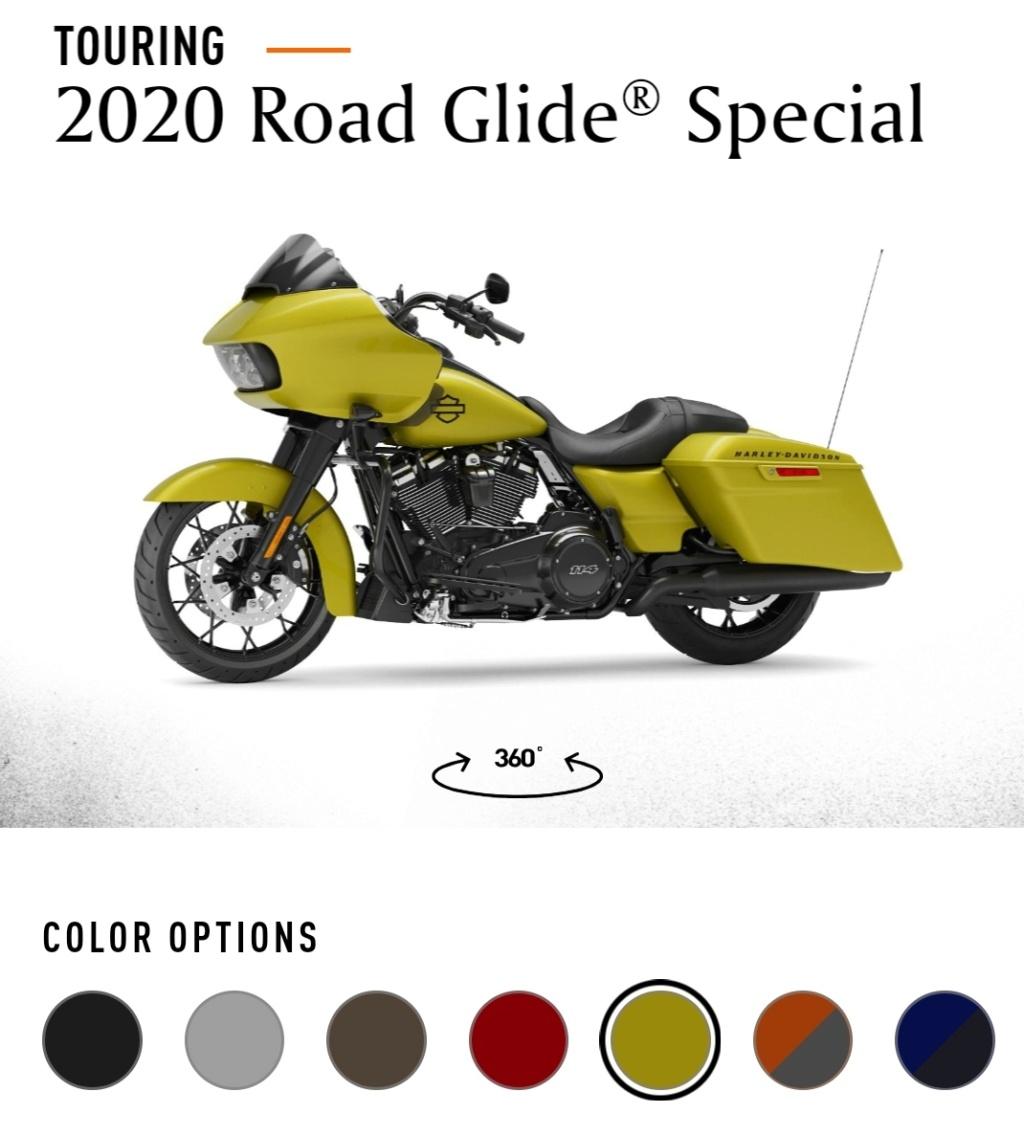 road glide 2020 Seulement 900 disponibles dans le monde Img_2845