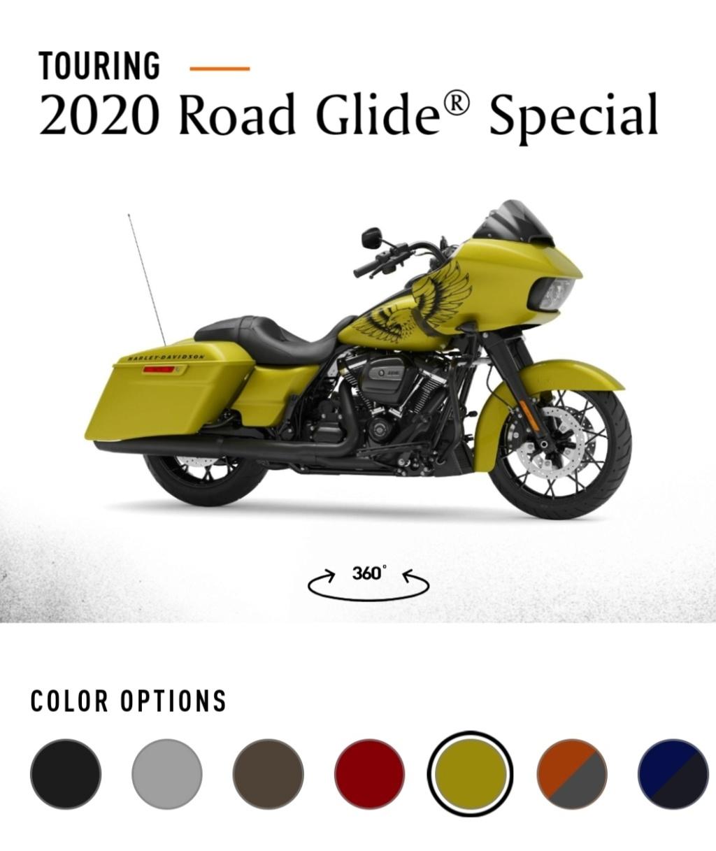 road glide 2020 Seulement 900 disponibles dans le monde Img_2846