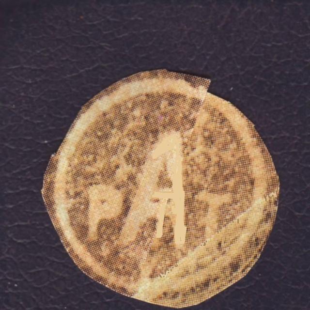"""Cachet PTT/A utilisé sur bande  """" CONTROLÈ """" en janvier 1945 sur lettre de Mulhouse. 5_000110"""