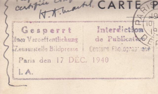 1939 - Le contrôle des informations - Censures de la Presse et dela Publication. (UB14 - UA6) _5_00013