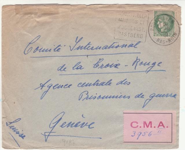 Etiquette du CICR de Genève. _a6_10