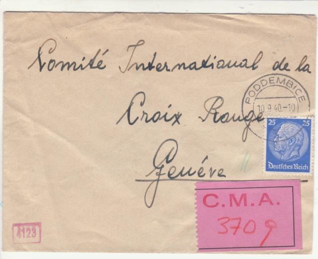 Etiquette du CICR de Genève. _a7_10