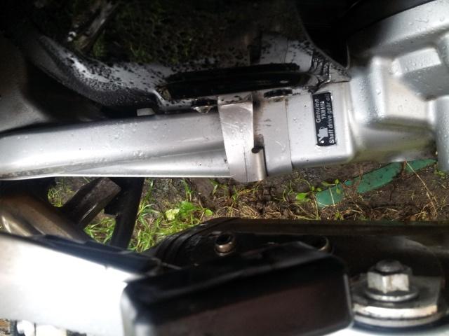 Lèche roue arrière pour FJR 2006  20130111