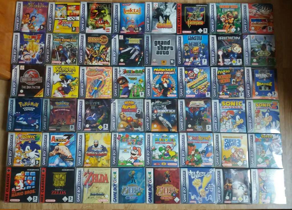 retroactionman Collection Gba_co21