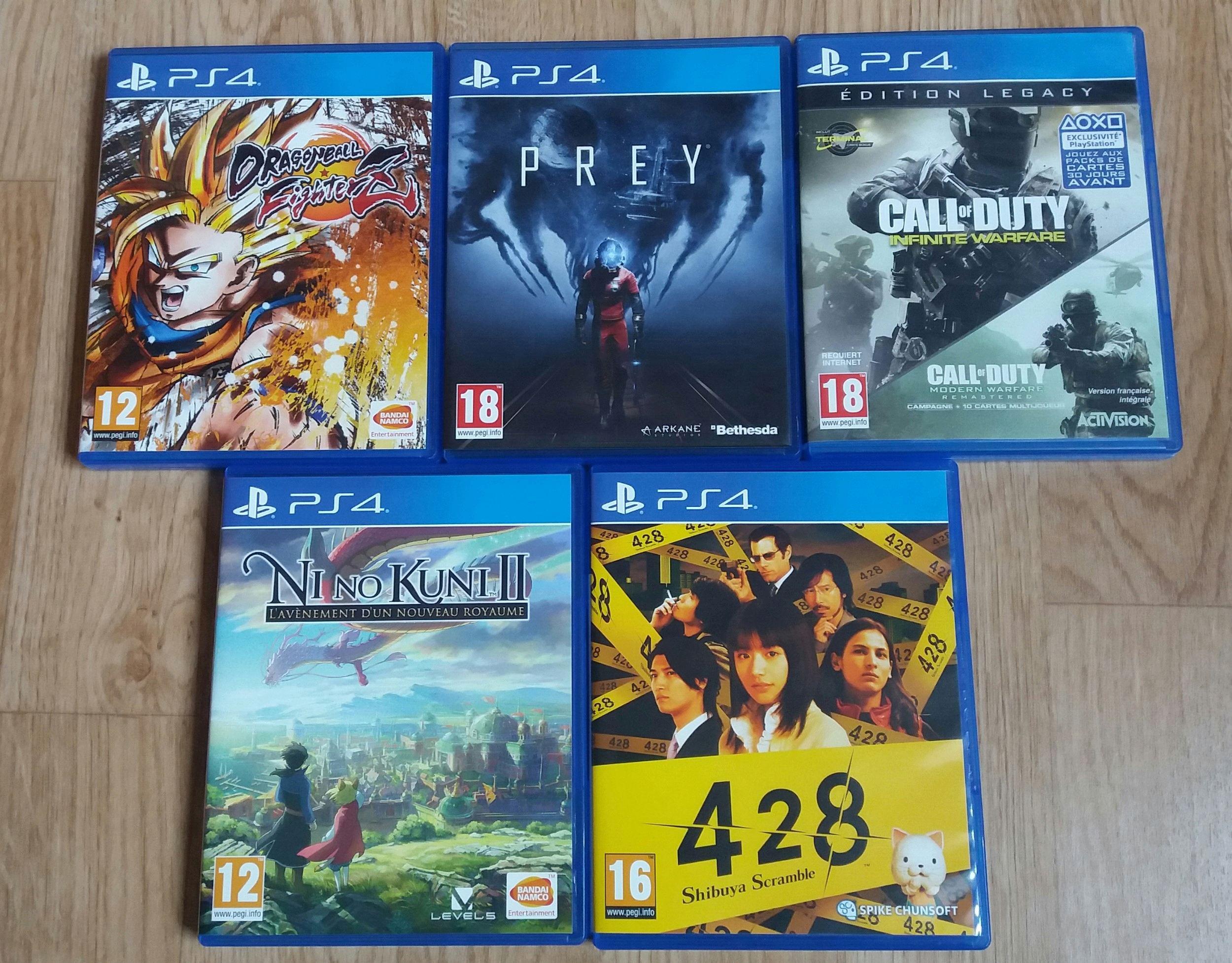 Lot de 5 jeux PS4 Lot_5_11