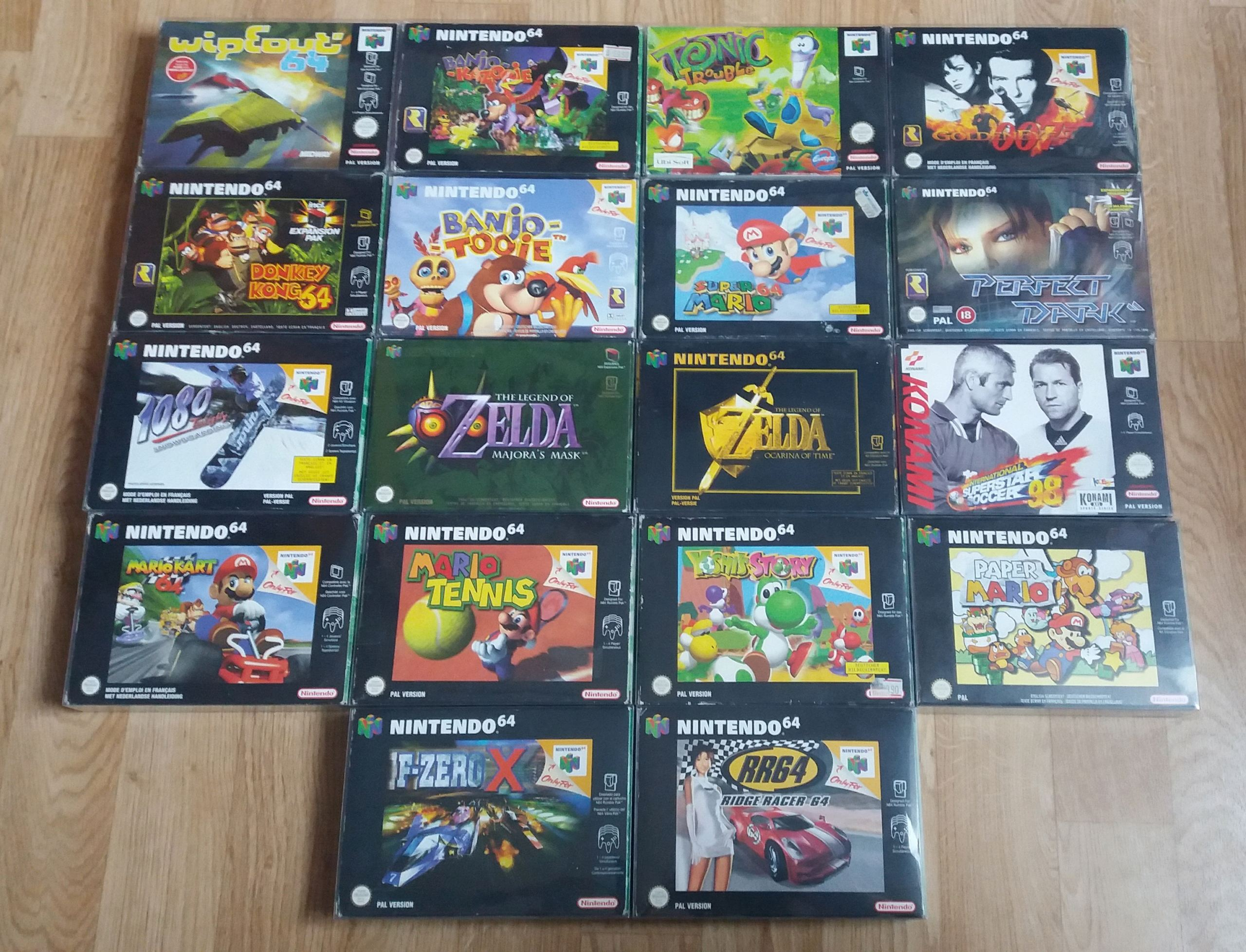 retroactionman Collection N64_co10