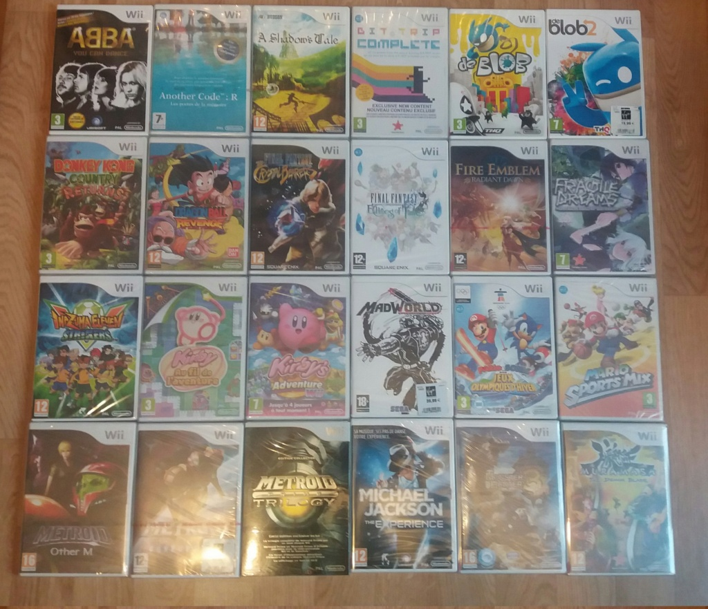 retroactionman Collection Wii_co10