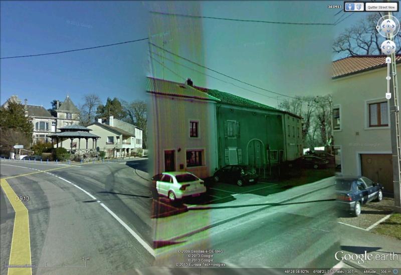 STREET VIEW : Bugs, collages, défauts dans l'image - Page 4 Dafaut10