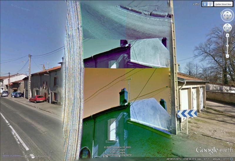 STREET VIEW : Bugs, collages, défauts dans l'image - Page 4 Dafaut11