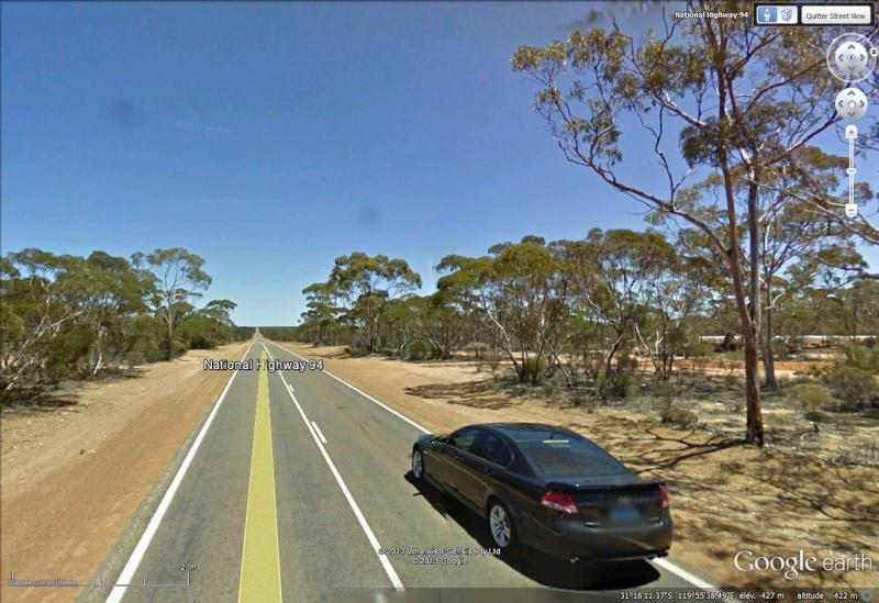 Au pays des Kangourous on ne conduit pas mieux qu'ailleurs National Higway 94 Australie Dapass10