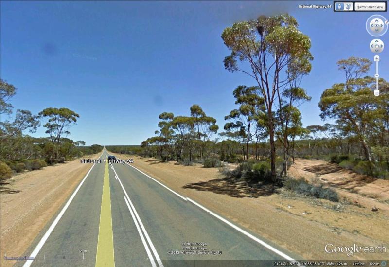 Au pays des Kangourous on ne conduit pas mieux qu'ailleurs National Higway 94 Australie Dapass11